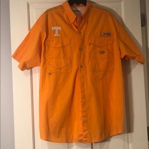 🍊TENNESSEE VOLS Columbia PFG Shirt Size Large